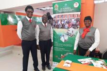 ACEIDHA Team at the Ndola International Trade Fair