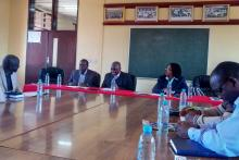 Visit by the National Steering Committee