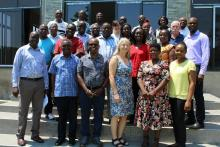 PhD students and Faculty at the ACEIDHA/FORTECASE workshop in Kabwe – November 2019