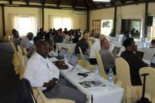 Delegates during the ACEIDHA & SACIDS ISAB meeting held in Livingstone, Zambia – December 2019